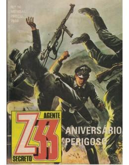 Agente Secreto Z33 - N.º 16 - Aniversário Perigoso