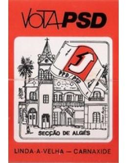 Autocolante - Vota PSD
