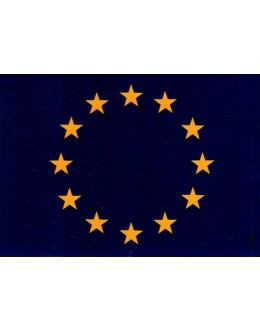 Bandeira Europa [Autocolante]