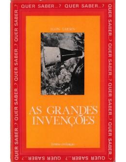 As Grandes Invenções | de Egon Larsen