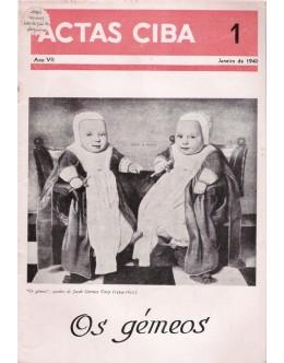Actas Ciba - Ano VII - N.º 1 - Janeiro de 1940