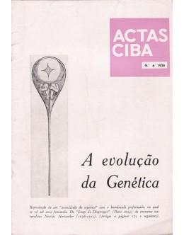 Actas Ciba - Ano V - N.º 6 - Agosto de 1938