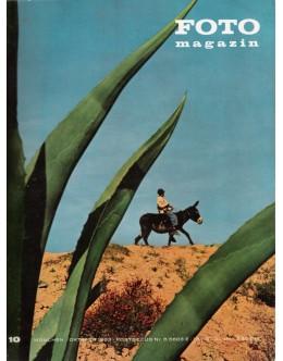Foto Magazin - N.º 10 - Oktober 1963