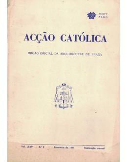 Acção Católica - Vol. LXXVI - N.º 2 - Fevereiro de 1991