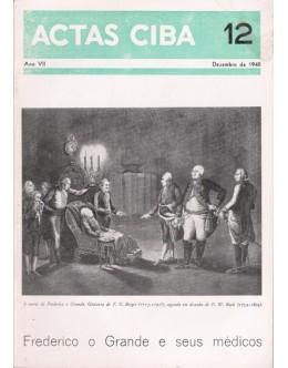 Actas Ciba - Ano VII - N.º 12 - Dezembro de 1940