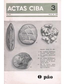 Actas Ciba - Ano IX - N.º 3 - Março de 1942