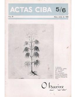 Actas Ciba - Ano IX - N.º 5/6 - Maio/Junho de 1942