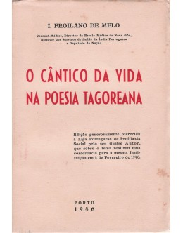 O Cântico da Vida na Poesia Tagoreana   de I. Froilano de Melo