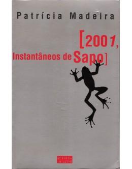 2001, Instantâneos de Sapo | de Patrícia Madeira