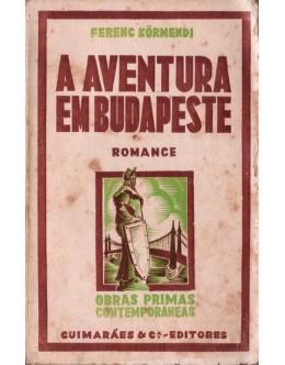 A Aventura em Budapeste | de Ferenc Körmendi