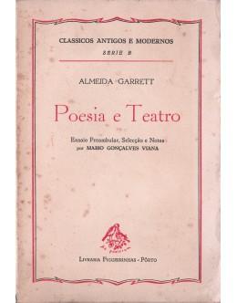 Poesia e Teatro   de Almeida Garrett