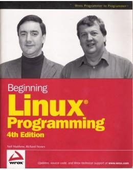 Beginning Linux Programming | de Richard Stones e Neil Matthew
