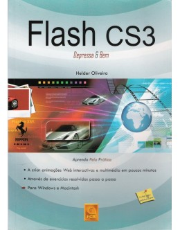 Flash CS3 - Depressa e Bem | de Hélder Oliveira