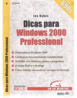 Dicas para Windows 2000 Professional | de Jes Nyhus