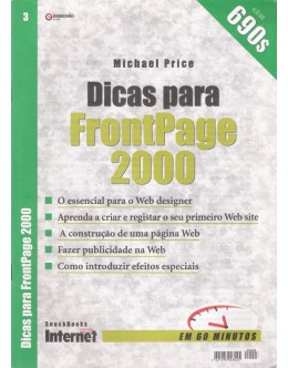 Dicas para FrontPage 2000 | de Michael Price