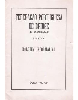 Federação Portuguesa de Bridge (Em Organização) - Boletim Informativo