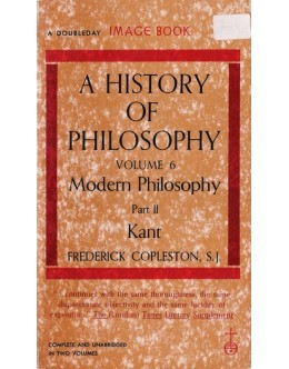 A History of Philosophy - Volume 6 Part II | de Frederick Copleston