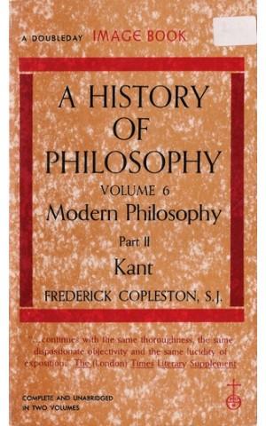 A History of Philosophy - Volume 6 Part II | de Frederick Copleston