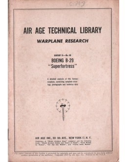 Air Age Technical Library - Warplane Research: Group II - No. 6B - BOEING B-29