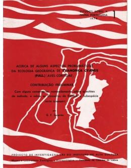 Acerca de Alguns Aspectos Problemáticos da Ecologia Geográfica de Cyanopica Cyanus | de G. F. Sacarrão