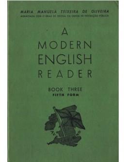 A Modern English Reader - Book Three - Fifth Form | de Maria Manuela Teixeira de Oliveira