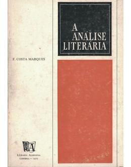 A Análise Literária | de F. Costa Marques