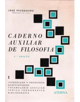 Caderno Auxiliar de Filosofia | de José Pecegueiro