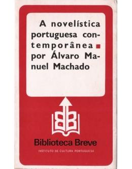 A Novelística Portuguesa Contemporânea | de Álvaro Manuel Machado
