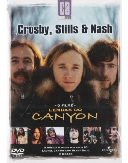 Crosby, Stills & Nash | Lendas do Canyon [2DVD]