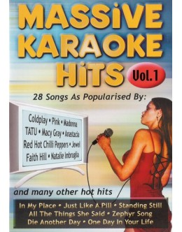 VA | Massive Karaoke Hits Vol. 1 [DVD]