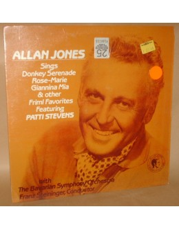 Allan Jones & Patti Stevens | Allan Jones Sings Friml Favorites With Patti Stevens [LP]